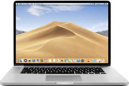 Apple A1398 MACBOOK PRO I7 2.2/16GB/500GB SSD/15.6 2015